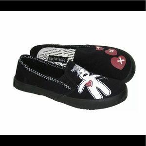 Draven women shoes, color: black voodoo Size: 8